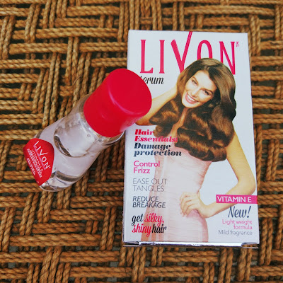 Livon Hair Serum Review || Hair Serum under Rs.100 || Paechypinkpretty