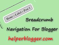 cara memasang breadcrumb navigasi