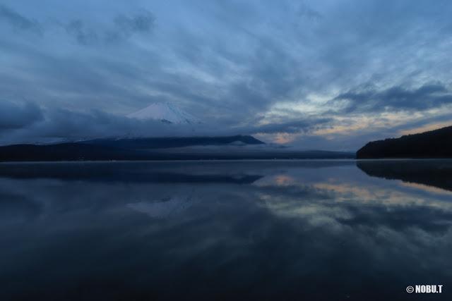 富士山・朝景~山中湖