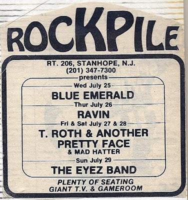 Rockpile rock club band lineup