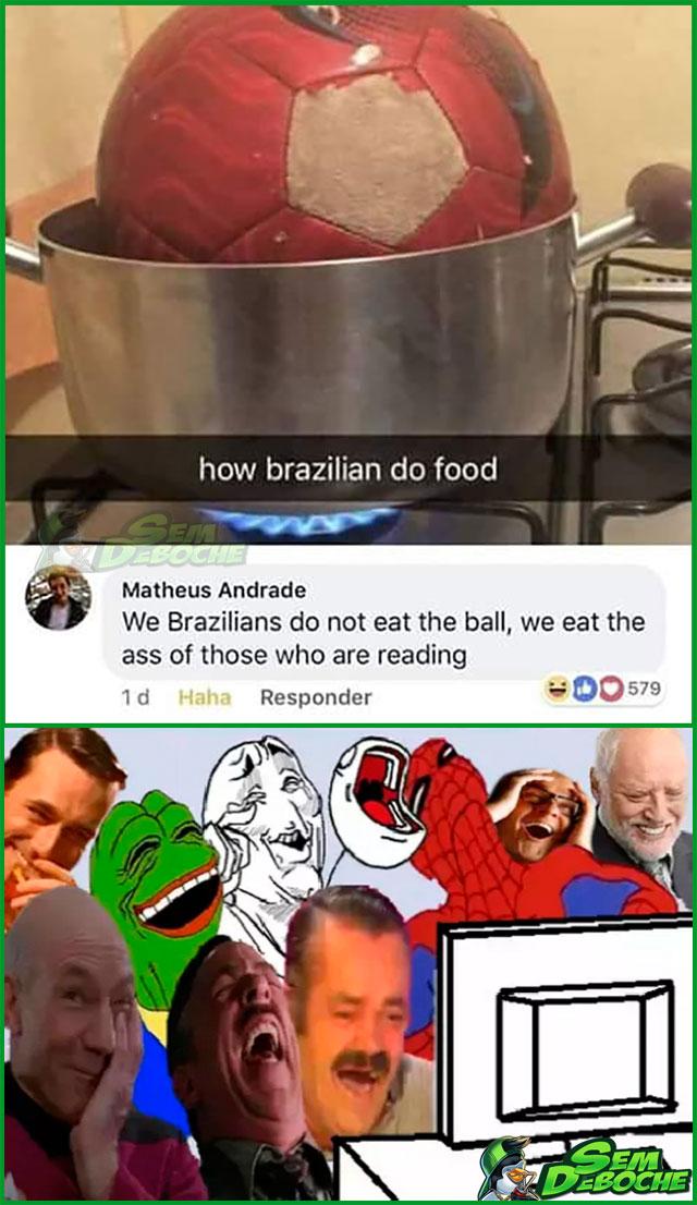 ZOAR OS BRASILEIROS NÃO É PARA AMADORES