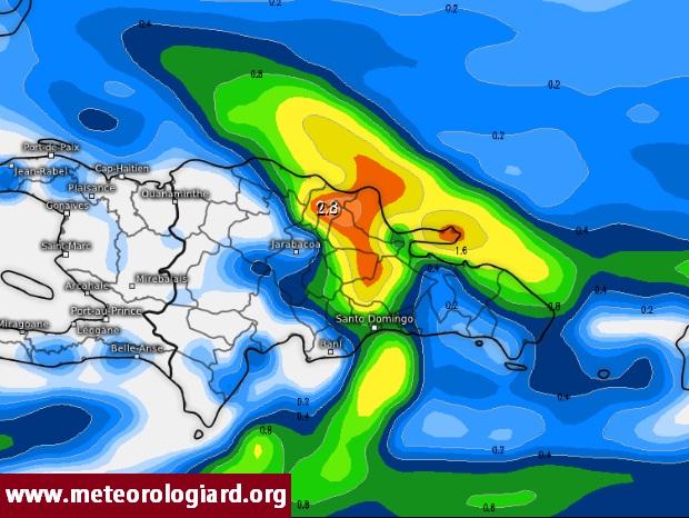 Inundaciones y deslizamientos  en República Dominicana
