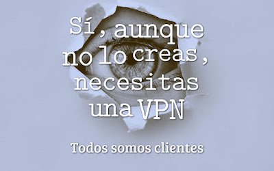 Sí, aunque no lo creas, necesitas una VPN