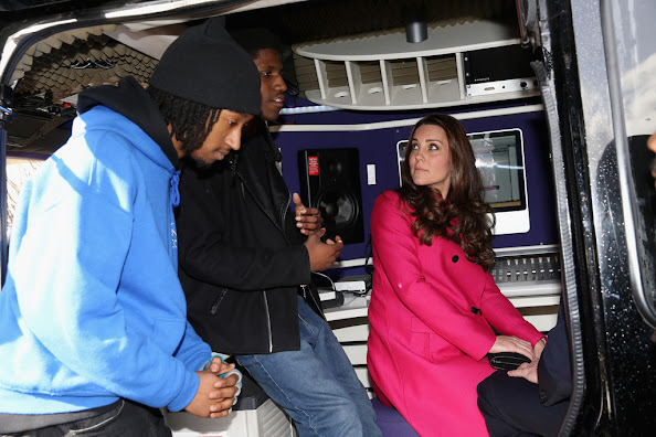 Catherine, Duchess of Cambridge visited the Stephen Lawrence Centre