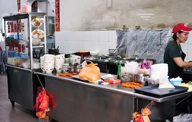 Kampar Noodles & Ipoh Hor Hee Noodles Stall