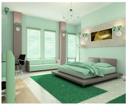 Furniture Wonderful Green Paint Living Room Photos Mint ...