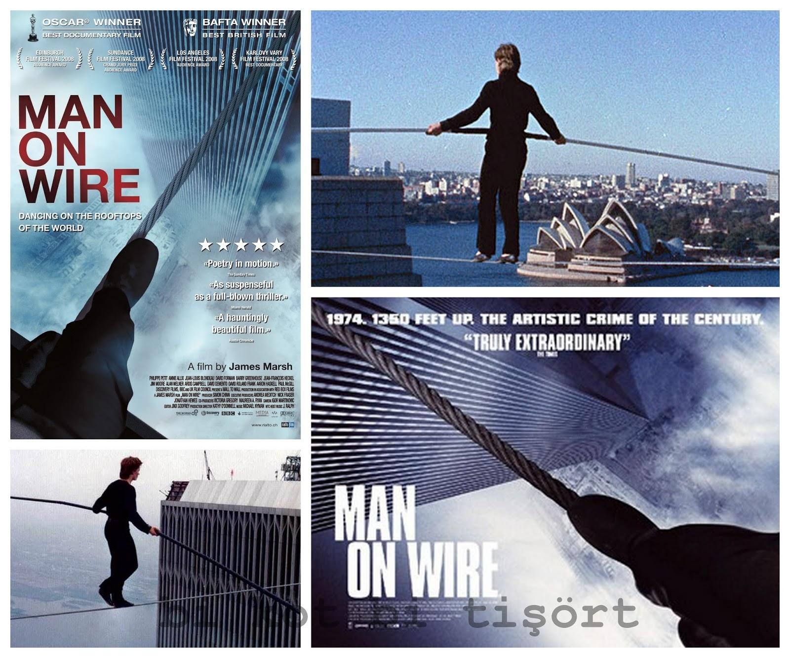 Bi Kot Bi Tişört: Film Önerisi: Man on Wire