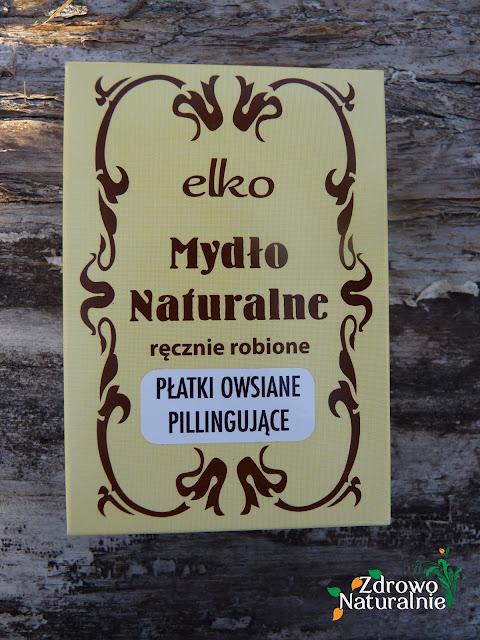 ELKO - Mydło naturalne ręcznie robione z płatkami owsianymi