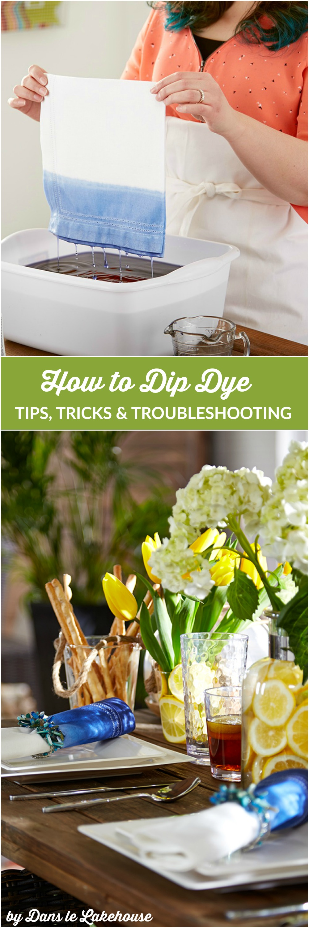 How to dip dye fabric: tips, tricks, and troubleshooting