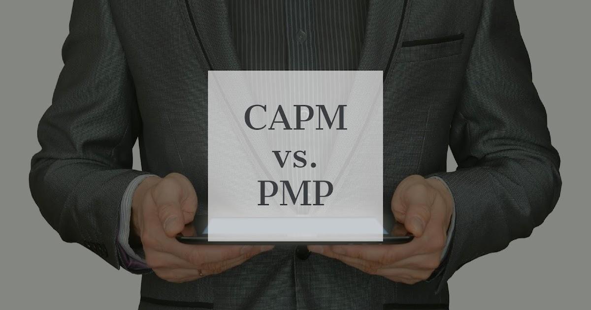 Capm Vs Pmp Certification Benefits Nishtha Institute Of Training