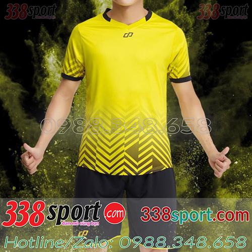 Áo Bóng Đá Không Logo Hot Eureka WaDo SDD04 Vàng