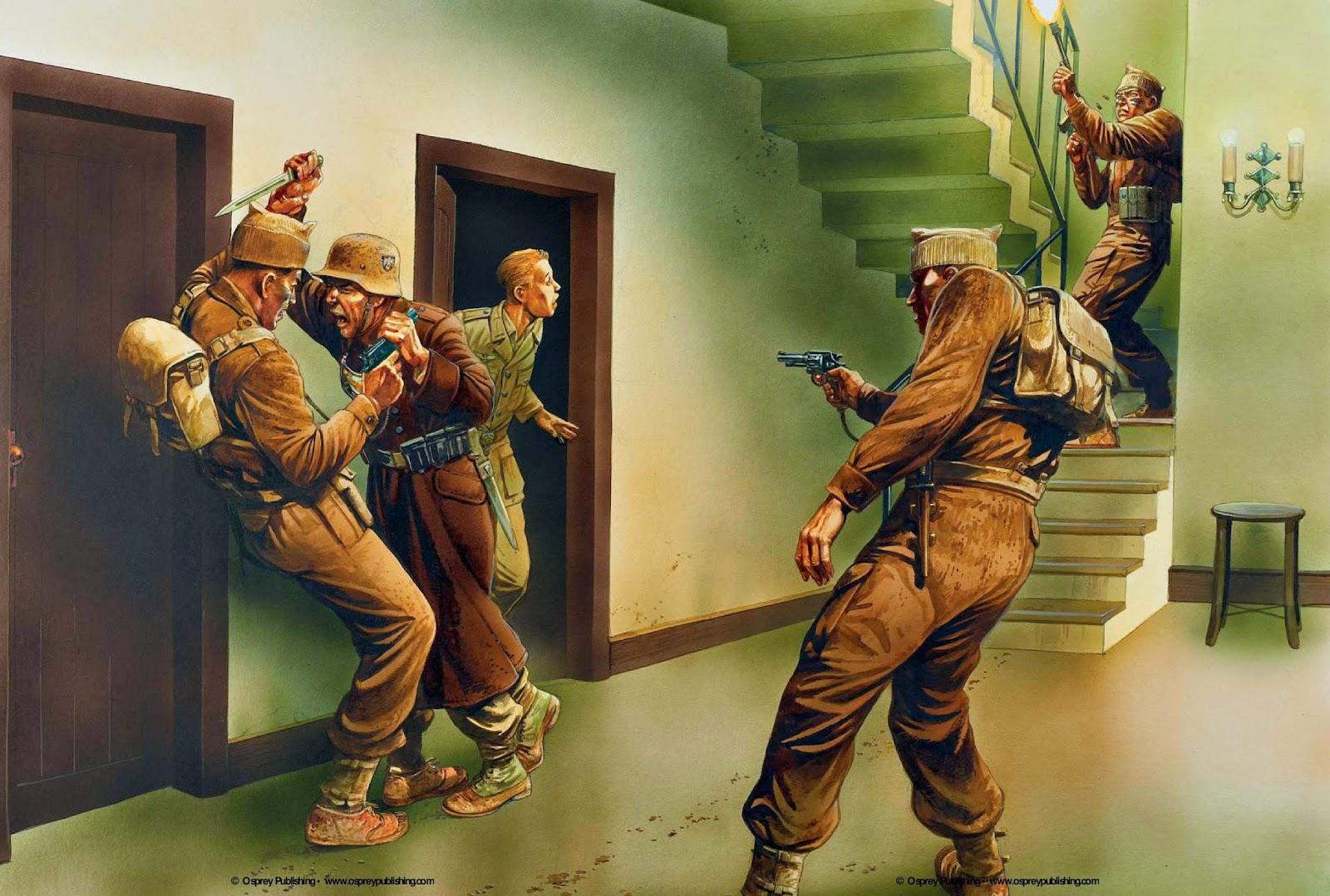 NAZI JERMAN Koleksi Lukisan Perang Nazi Jerman