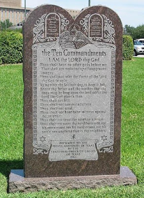 For some people in this pagan evolutionary culture, the Ten Commandments aren't good enough. Some have tried to rewrite them.