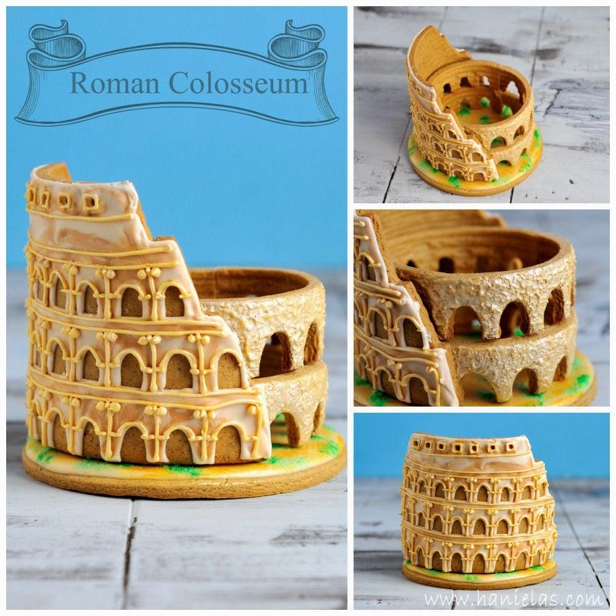 How To Make Colosseum Cake