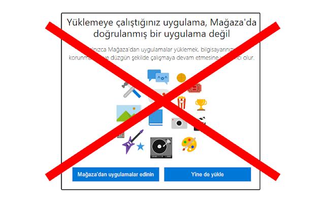 """Windows 10 """"Doğrulanmış Bir Uygulama Değil"""" Uyarısı Kaldırma (Resimli Anlatım)"""