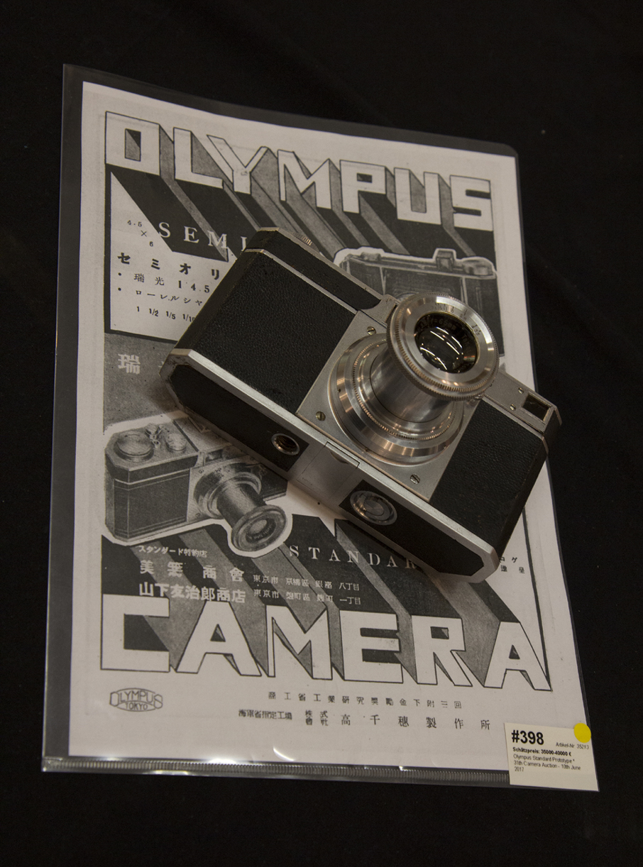 elrectanguloenlamano: An Olympus Standard Prototype Camera from 1937
