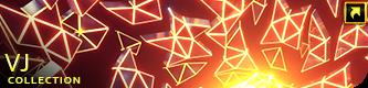 Neon Glowing Stars Tunnel - 7