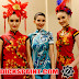 BODY PAINTING CHEONGSAM NEW YEAR PARTY @CENTRAL PARK MALL JAKARTA
