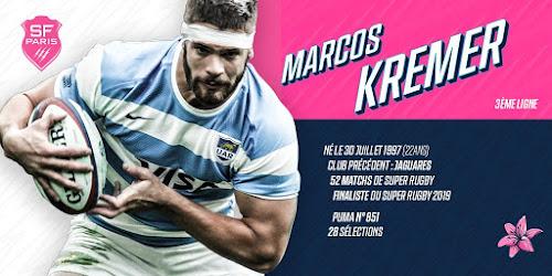 Marcos Kremer jugará en el Stade Francais