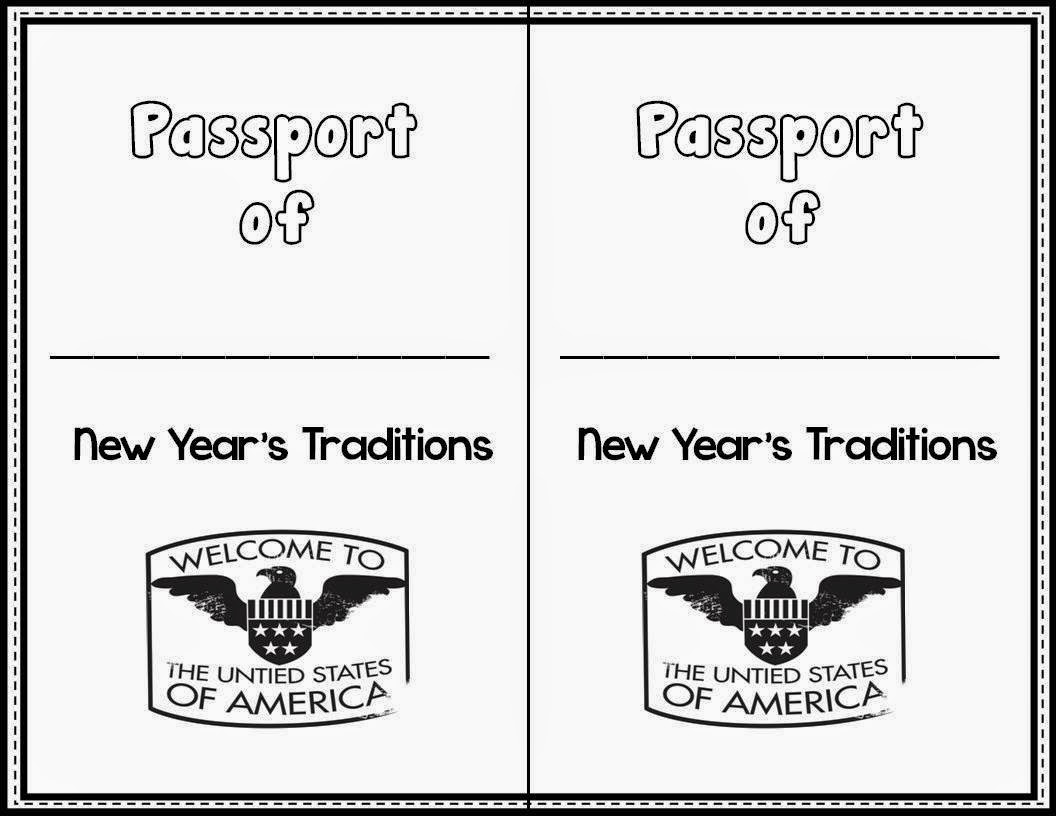 Classroom Freebies New Years Traditions Reading And Writing Activity