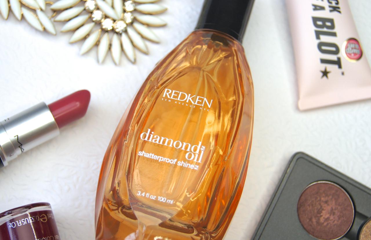 redken diamond oil glow shatterproof shine hair oil treatment review