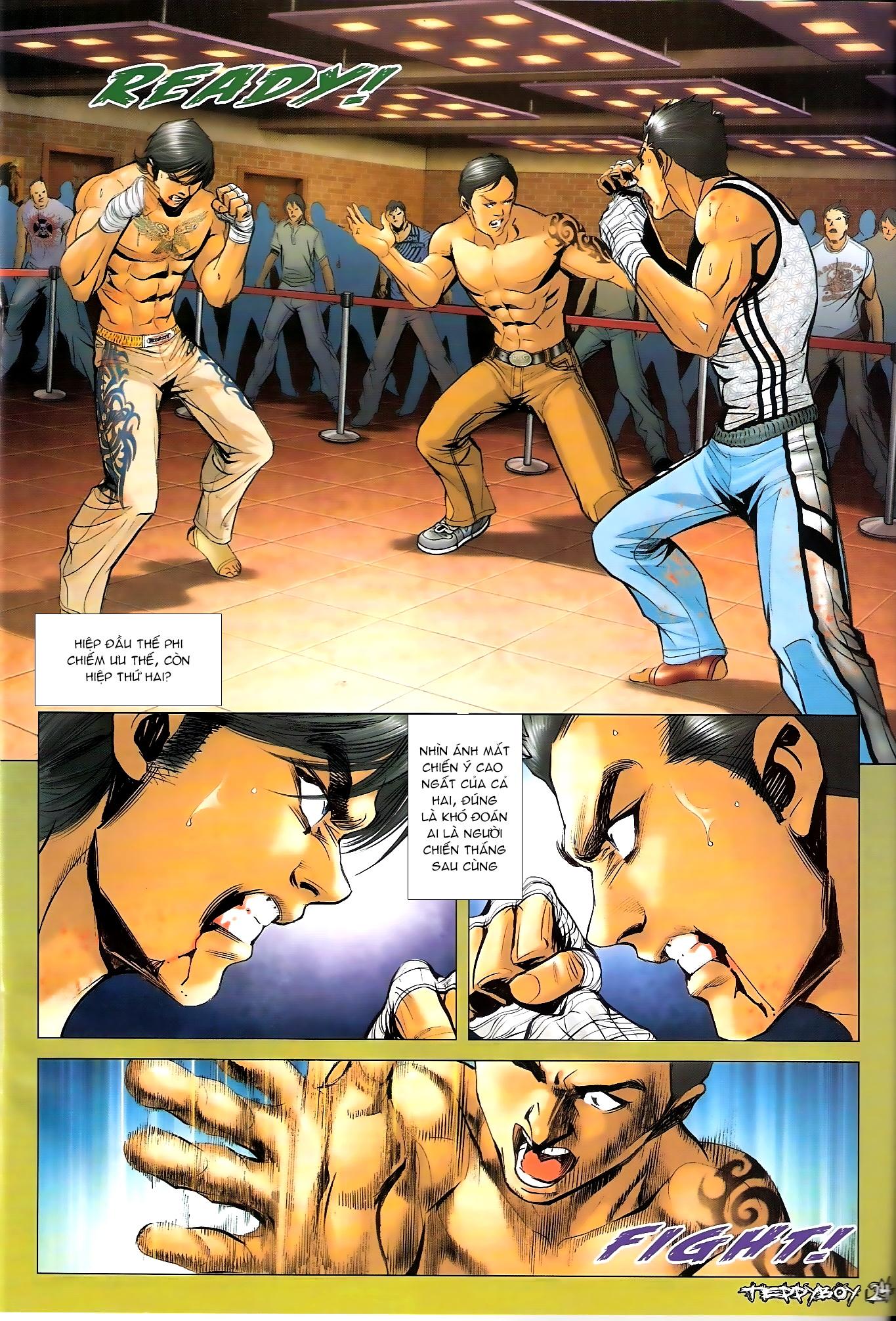 Người Trong Giang Hồ - Chapter 1307: Vinh Nhục Nhất Chiến 2 - Pic 21