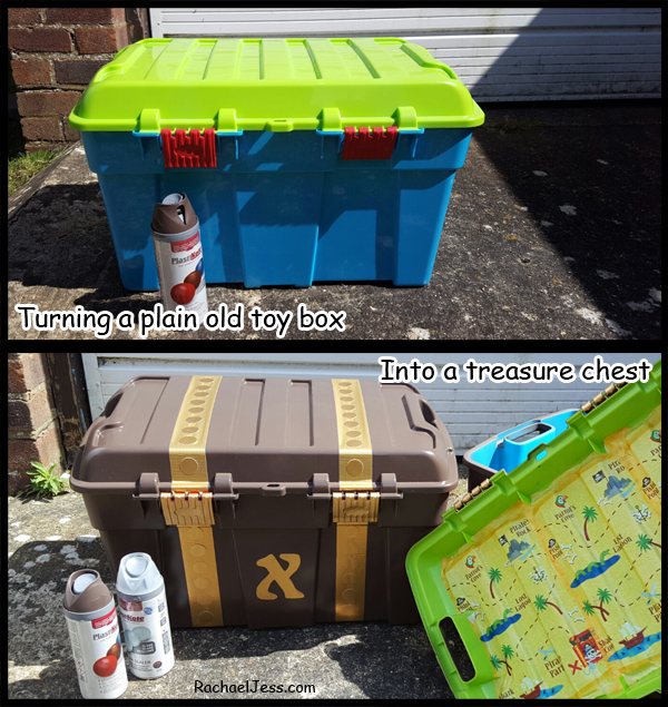 creating a treasure chest