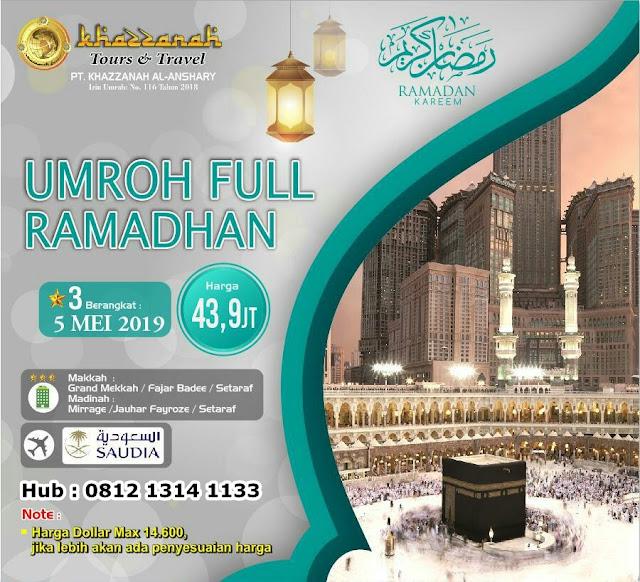 umroh full ramadhan 2019