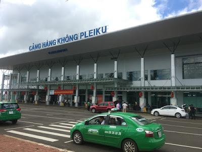 Sân đỗ máy bay Cảng hàng không Pleiku đi vào hoạt động