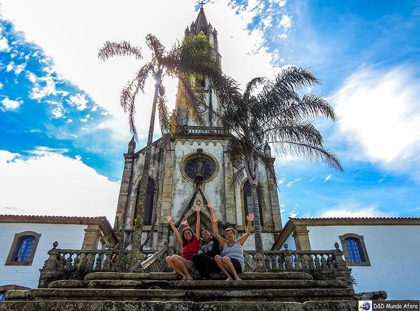 Santuário do Caraça em Catas Altas: foi usado como convento da minissérie Se Eu Fechar os Olhos Agora