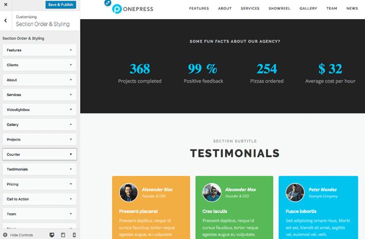 OnePress Plus v2.0.2 WordPress Plugin