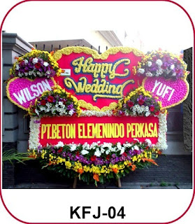 Bunga Papan Happy Wedding Di Bali Mester