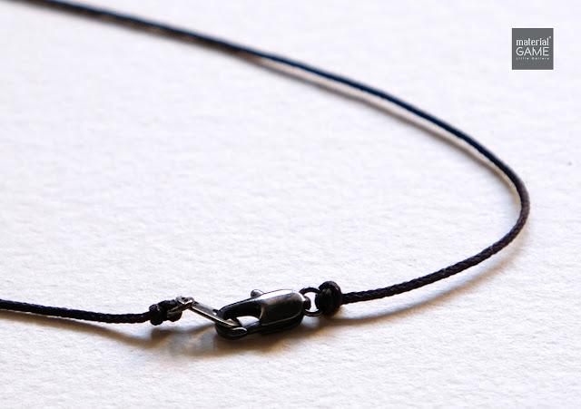 metallic clasp