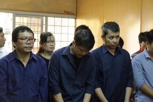Bị cáo Nguyễn Cảnh Chân