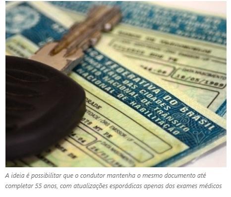 e8a1f8d46 O presidente Michel Temer estuda editar uma medida antes da eleição para  facilitar a renovação da Carteira Nacional de Habilitação (CNH).