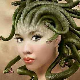 attachment hair turns into snake