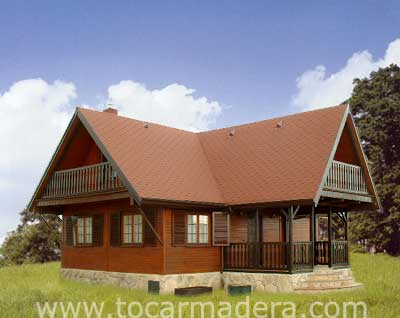 Casas de madera prefabricadas casas en madera precios - Precios casas de madera prefabricadas ...