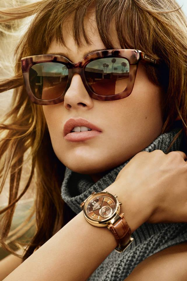 Michael Kors Fall/Winter 2015 Campaign featuring Karmen Pedaru