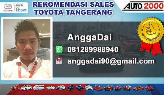Rekomendasi Sales Toyota Pamulang Tangerang
