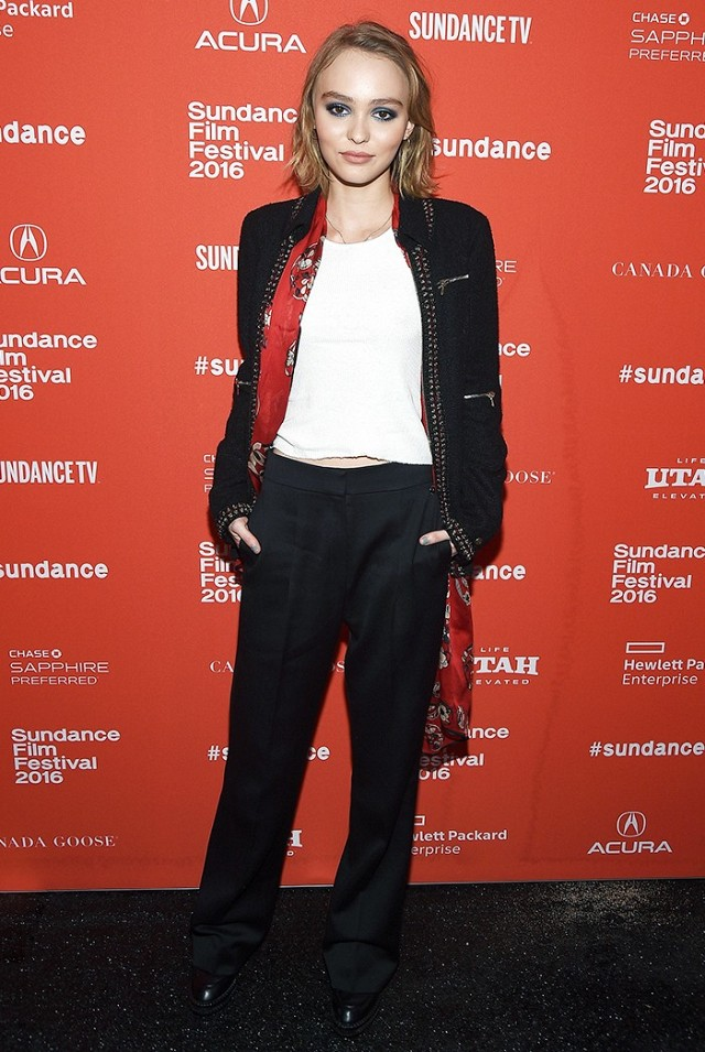 Lily-Rose Depp Style Sundance Festival