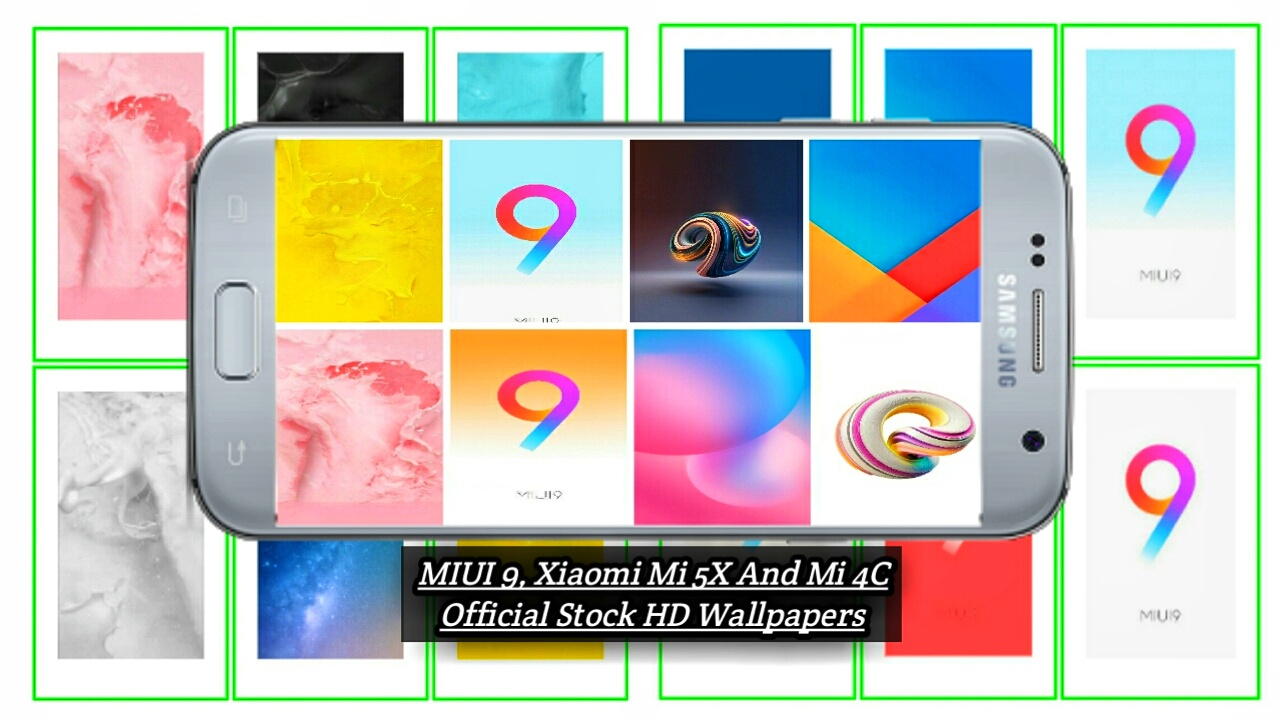 Download MIUI 9, Xiaomi Mi 5X And Mi 4C Official Stock HD Wallpapers
