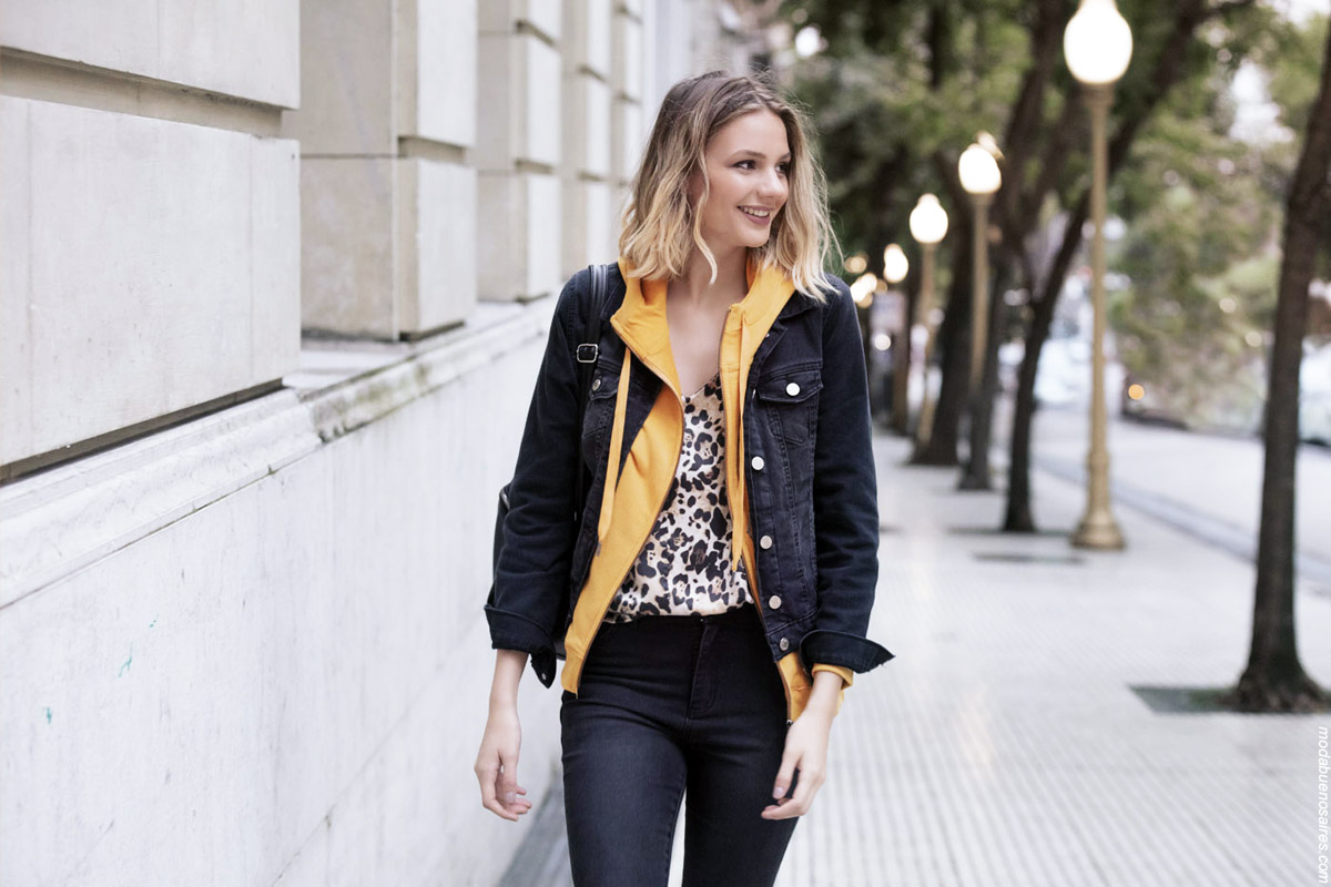 Moda invierno 2019 mujer argentina. Moda otoño invierno 2019 urbana y femenina.