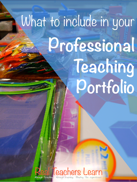 5 Things to Include in Your Teaching Portfolio