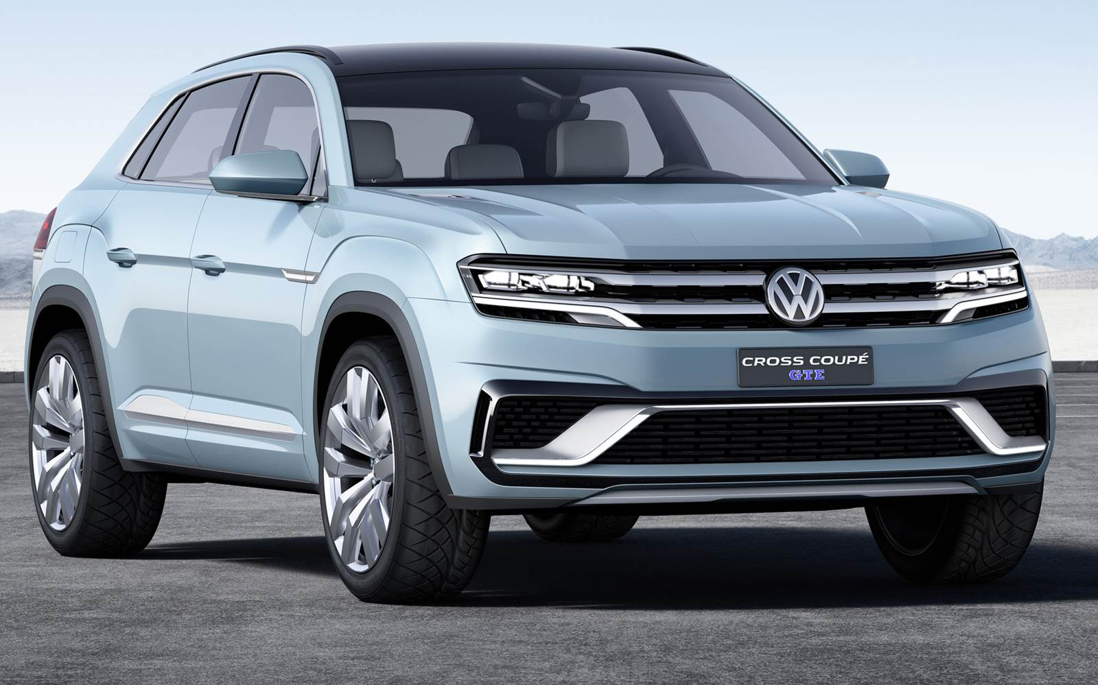 Volkswagen Cross Coup 233 Gte Antecipa Linhas Do Golf Suv
