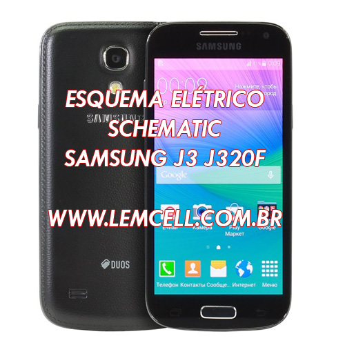 Lemcell Tutoriais  Esquema El U00e9trico Celular Smartphone Samsung Galaxy S4 Mini Duos Gt I9192i