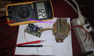 Symmetrical Regulated Power Supply