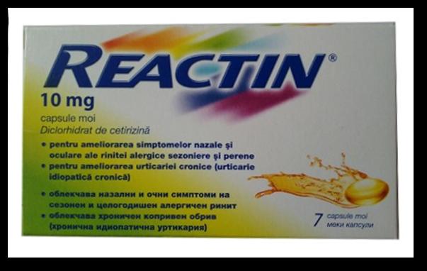 Reactin, aliatul tau in lupta impotriva alergiei