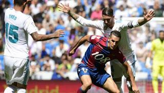Madrid Kurang Efisien Ditahan Imbang Levante