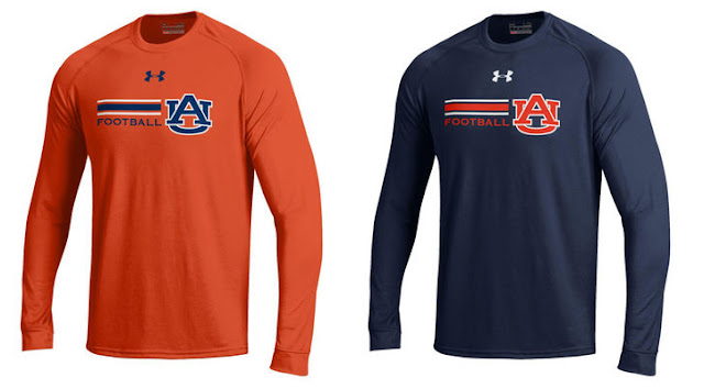 2016 Auburn Under Armour long sleeve
