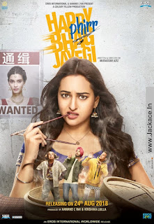 Happy Phirr Bhag Jayegi Budget, Screens & Box Office Collection India, Overseas, WorldWide